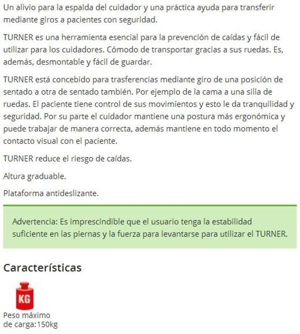 Ayuda a la transferencia Turner