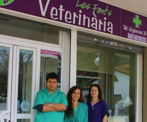 Equipo Les Fonts Veterinaria