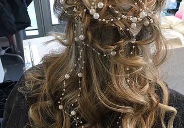 Peinados y maquillaje para novias