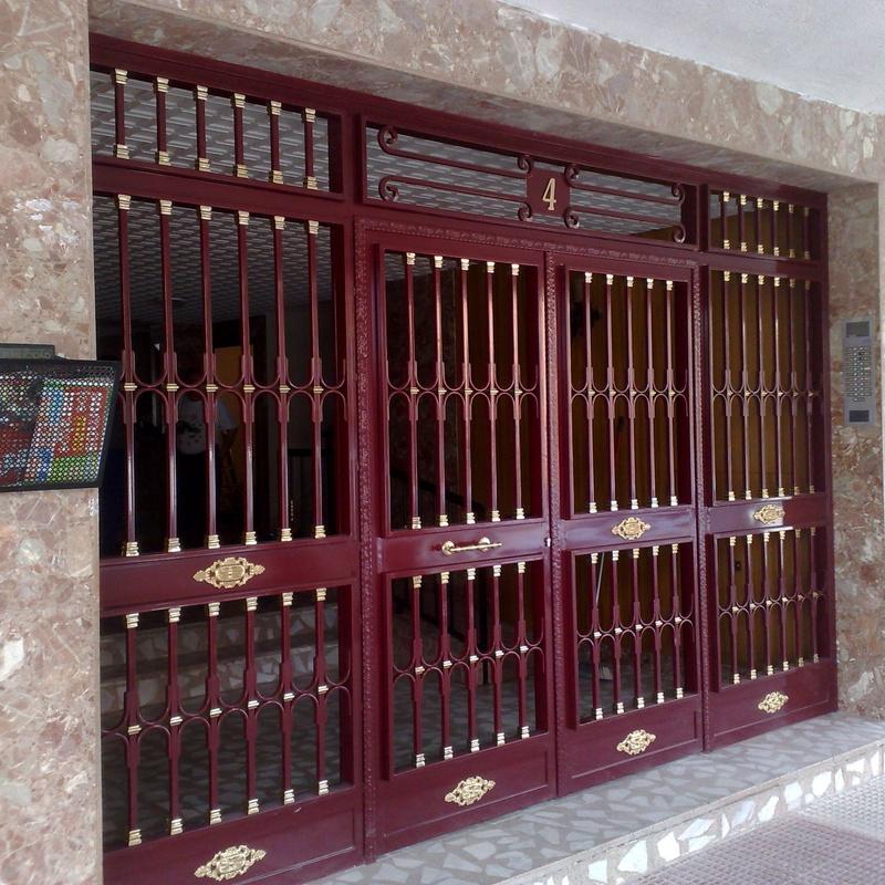 Puertas de portal: Productos y servicios de Cerrajería Titulcia