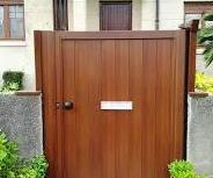 EL ALUMINIO IMITACION MADERA: Servicios de Exposición, Carpintería de aluminio- toldos-cerrajeria - reformas del hogar.