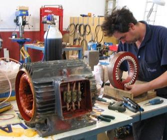 Máquina de soldadura: Servicios y Productos de Bobinados Las Quemadas S.C.A.