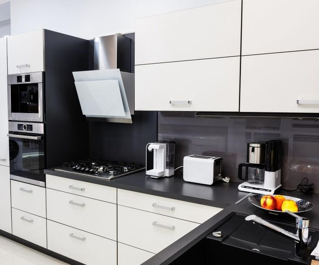 La distribución de los electrodomésticos en la cocina