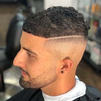 Afeitado de caballero