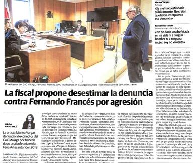 Fernando Francés es declarado Inocente