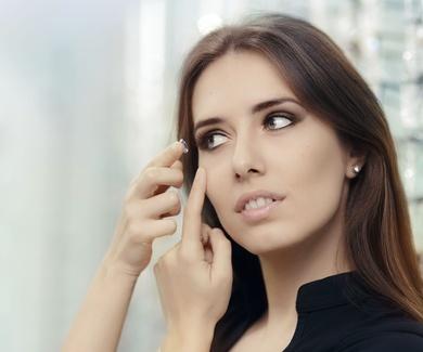 ¿Qué son las lentillas de hidrogel de silicona?