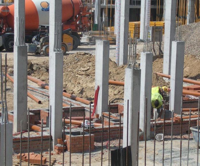 Empresa de construcción y reparación de pocería HIJON, redes horizontales de saneamiento