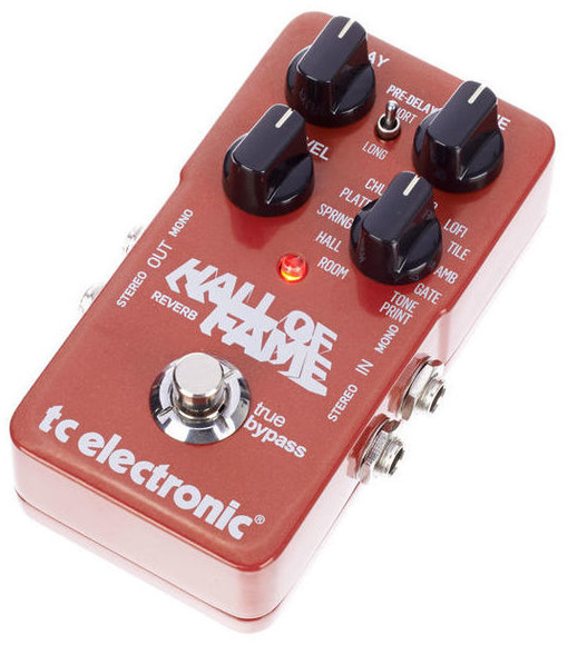 Pedal de reverb para guitarra Tc Electronic Hall Of Fame
