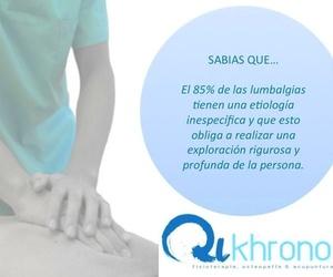 Osteopatía y acupuntura en Chamberí | Qikhronos - Fisioterapia, Osteopatía y Acupuntura