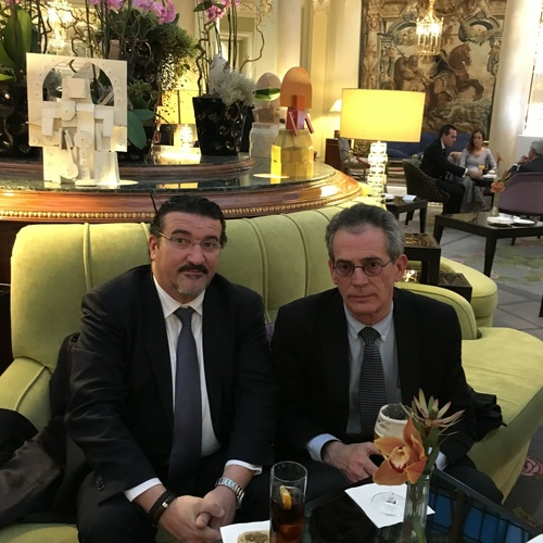D. Manuel N. Martos García de Veas y D. Cristobal Miró Fernandez