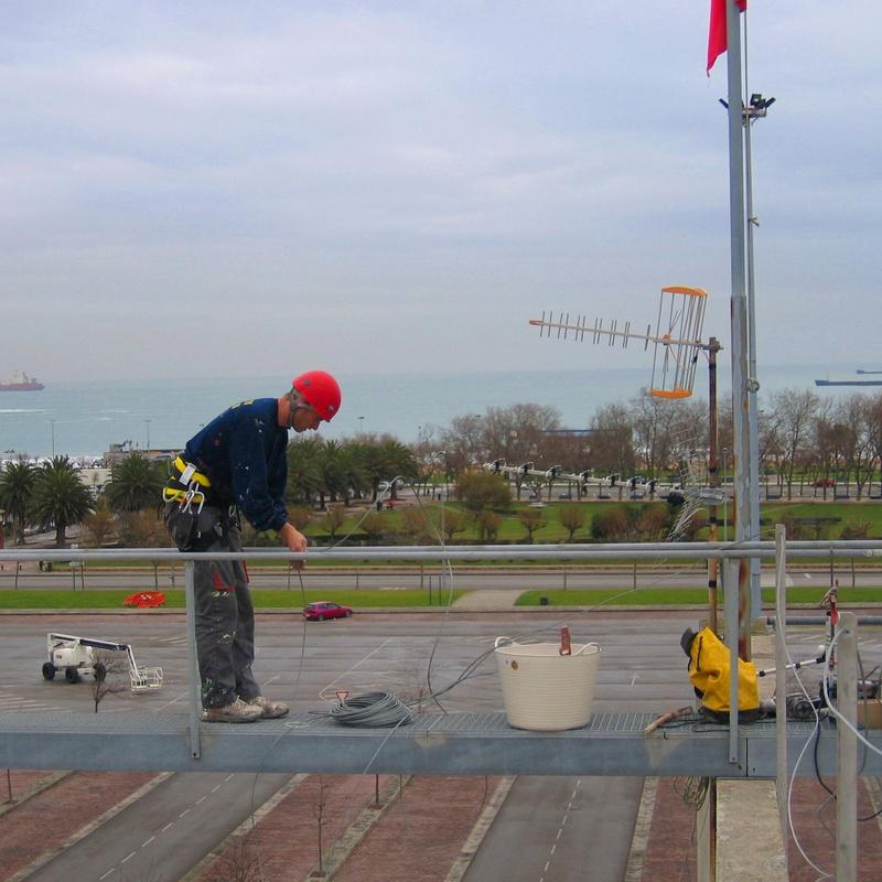Trabajos de mantenimiento en altura