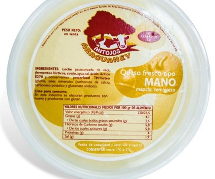 Queso de mano: Productos de Antojos Araguaney