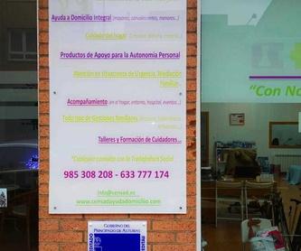 Departamento intervención social: Servicios sociales de CenSad Conciliación familiar y Servicios sociales