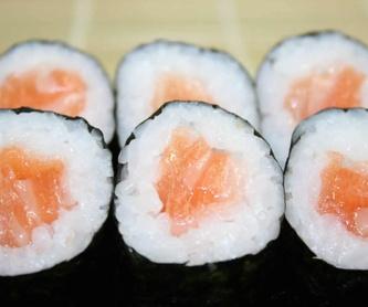 Menú 2: Especialidades y menús de Sushikai Tarraco