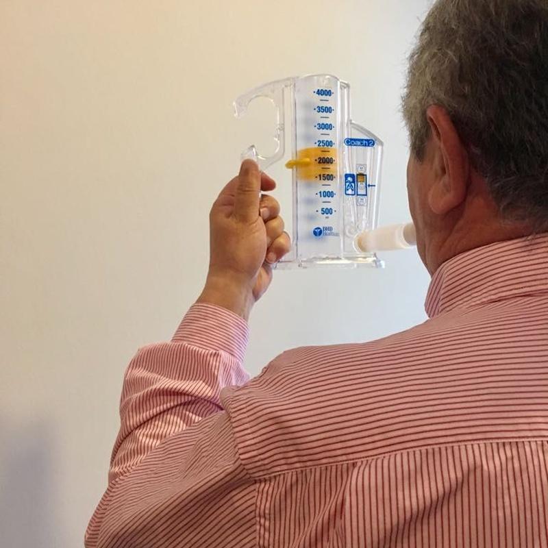 Fisioterapia respiratoria: Servicios  de Fisioleader