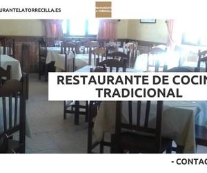 Menú de grupos en Ciudad Rodrigo