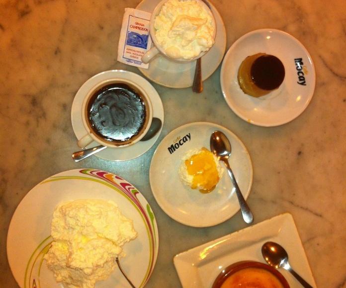Cafeterias en Born de Barcelona.Granja Camprodon