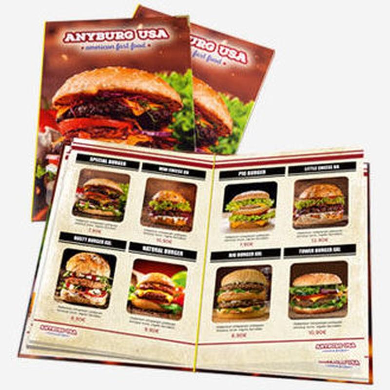 Cartas de Restaurante: Productos de Copistería Figuerola