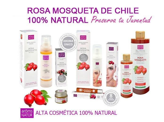 Linea ROSA MOSQUETA de Chile 100% Natural: Servicios de Quirosan
