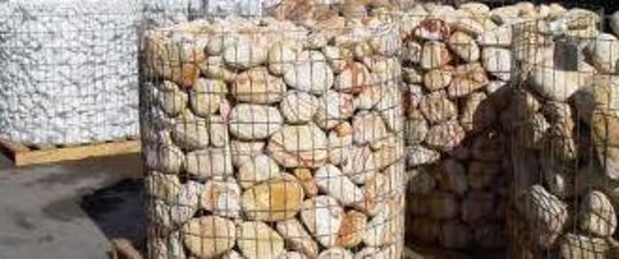 Piedras: Materiales de construcción de F. Campanero Materiales Construcción, S.L.