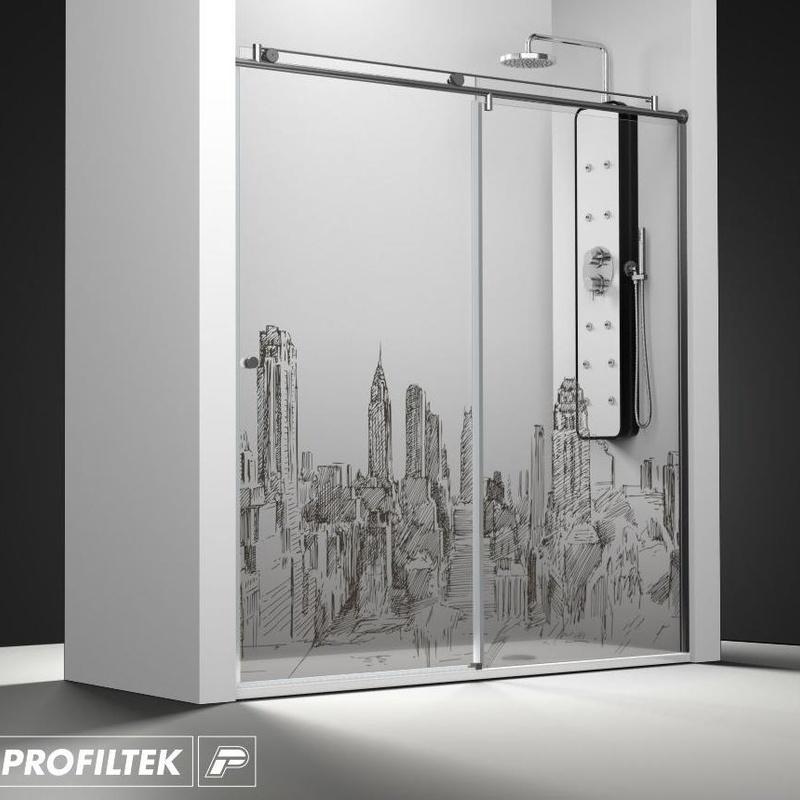 Mamoara de baño Profiltek serie Steel modelo ST-210 Light decoración cosmopolita