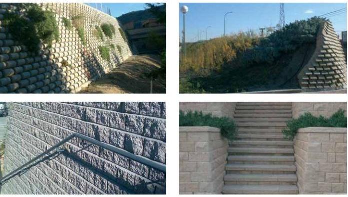 Muros arqueológicos y prefabricados: Servicios de LYA Universal De Solados Construcciones