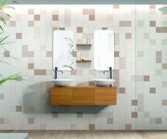 Mueble de baño Vidrebany colección Cube modelo Bambu: Servicios de Reformac Sant Boi