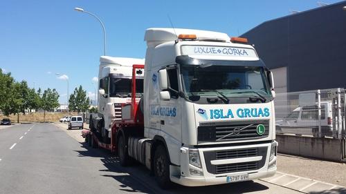 Servicio de grúa para vehículos pesados en Bilbao