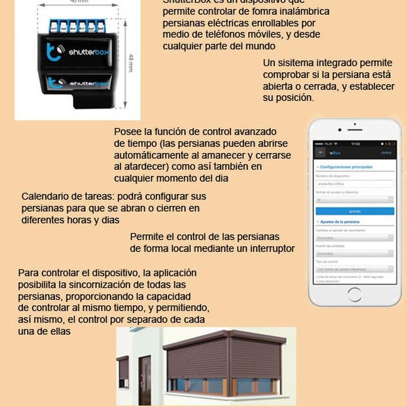 ShutterBox para persianas en Madrid