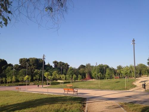 Iluminacion parque recinto ferial de guadalajara 1ª Fase