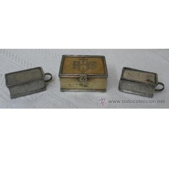 Custodia y Santo Óleos. Siglo XVII. 1683: Catálogo de Antiga Compra-Venta
