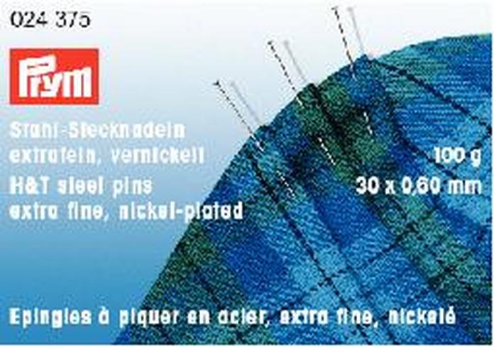 Alfileres de acero templado Gütermann Nº 6 EF