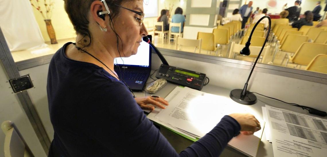 Traductor simultáneo en Tenerife