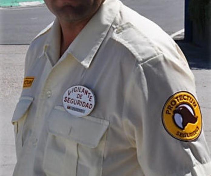 Vigilancia: Servicios de Protectum Seguridad