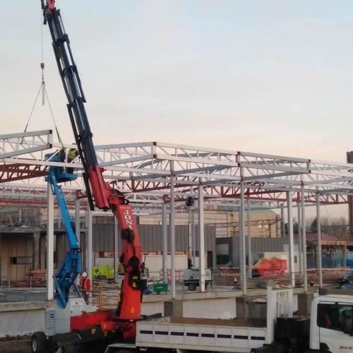 La nueva estacion del Ave va tomando forma