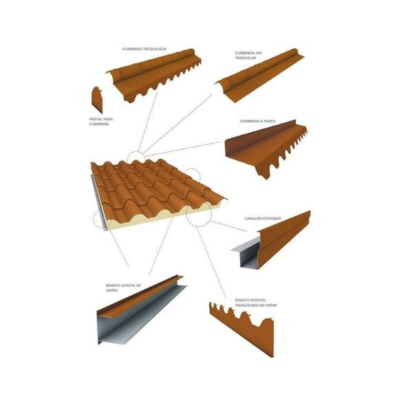 Remates para panel (teja y cubierta): Productos y servicios de Rafel Panel