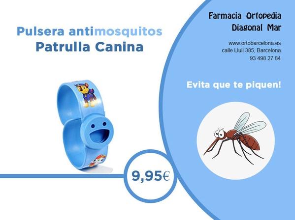 Pulsera antimosquitos de la Patrulla Canina!