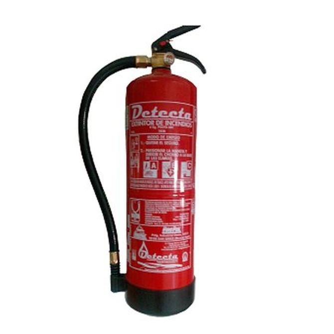 El extintor adecuado a cada tipo de fuego
