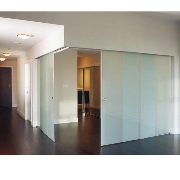Puertas correderas de cristal: Trabajos  de EMVidrio, S.L.