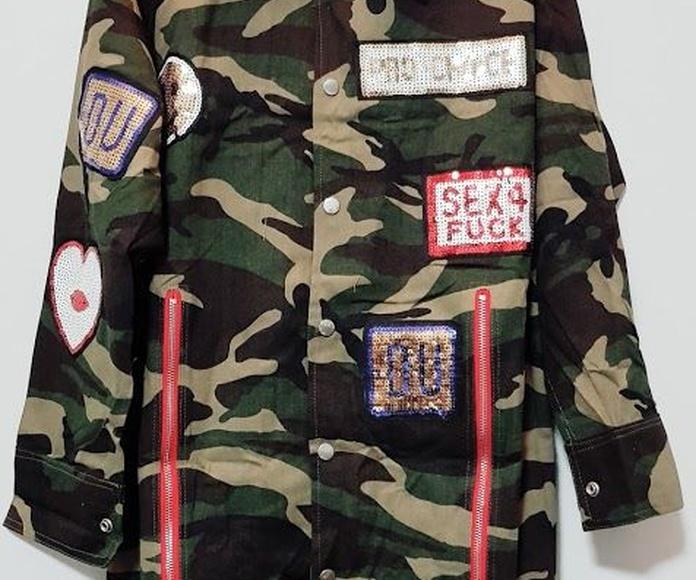 Chaqueta militar de camuflaje: Productos de Picnic Moda Urban y Pinpilinpauxa