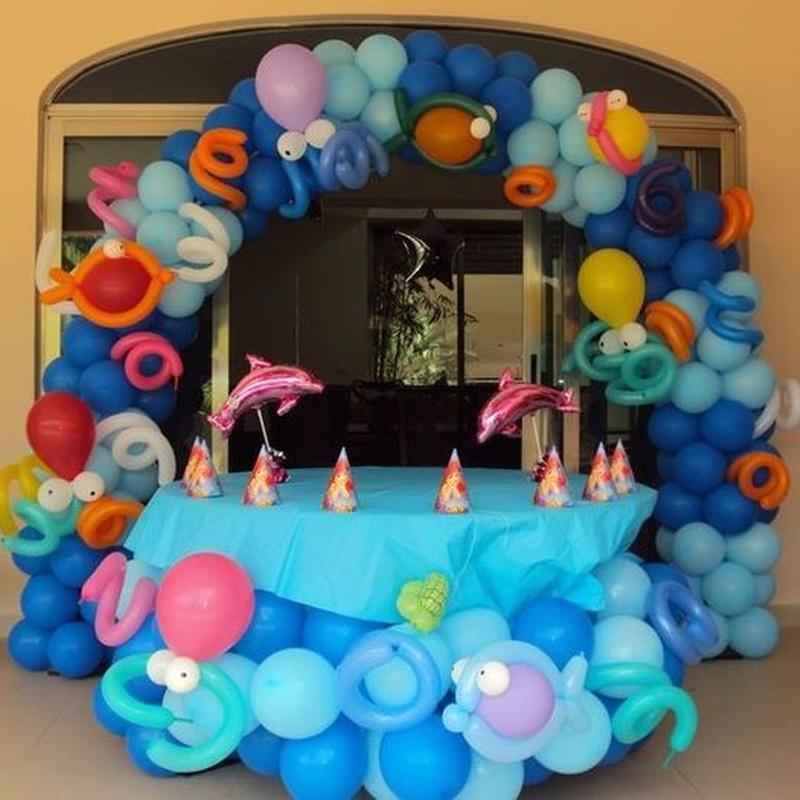 Decoración con globos: Catálogo de Hinchables Divertidos