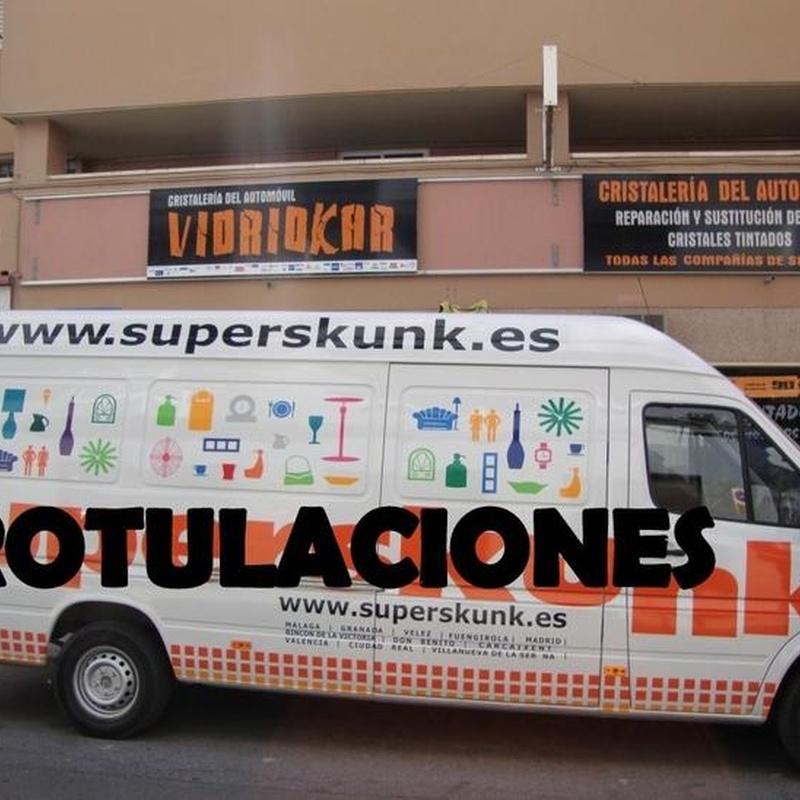 Vinilos / Rotulaciones: Servicios de Vidriokar
