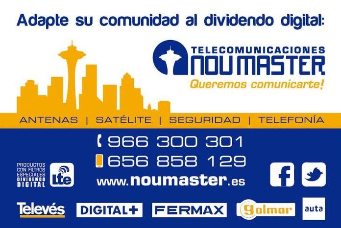Adaptar antena colectiva al dividendo digital NOU MASTER