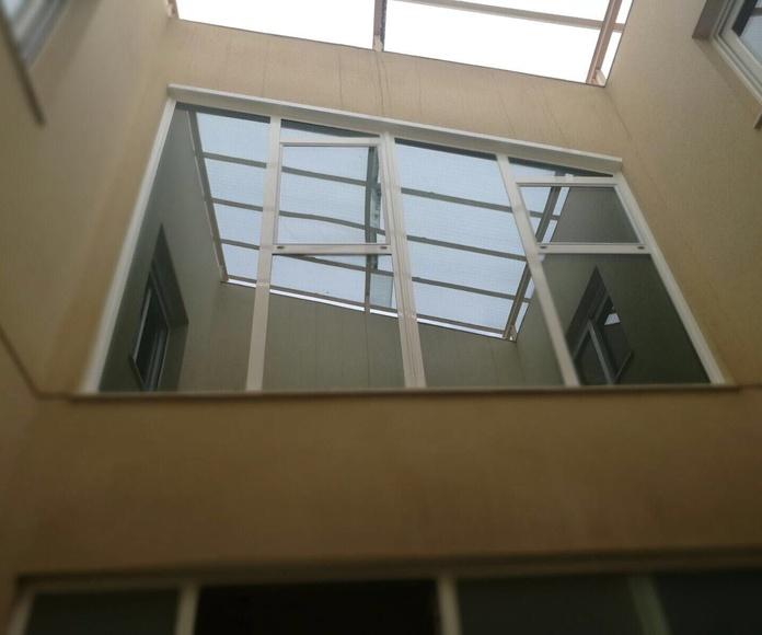 Muros cortinas: Productos y servicios de Cristalería Jiménez