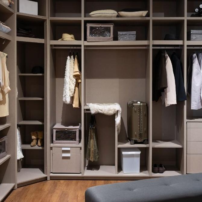 Convierte esa habitación libre en un gran vestidor