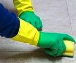 guantes de menaje satinado