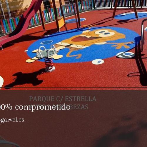 Pavimentos de caucho en Málaga | Pavimentos Garvel