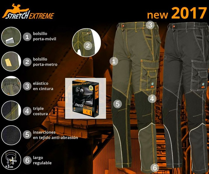 PANTALON STRETCH EXTREME