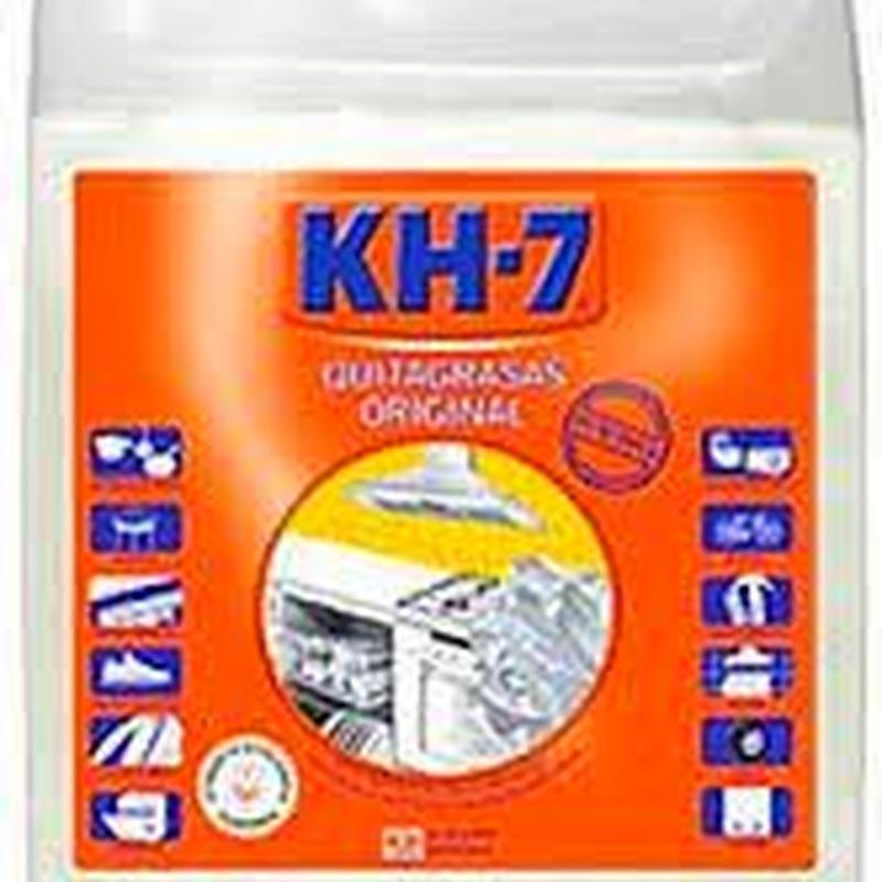 DESENGRASANTE KH-7 ORIGINAL 5L.: SERVICIOS  Y PRODUCTOS de Neteges Louzado, S.L.