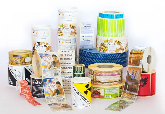 Etiquetas adhesivas para imprimir